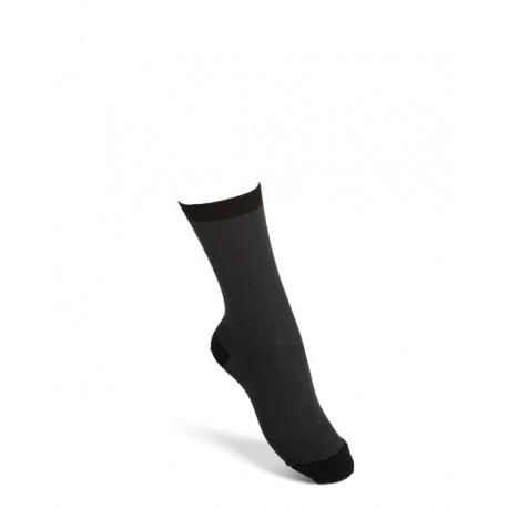 Comfort socks cotton blackgrey