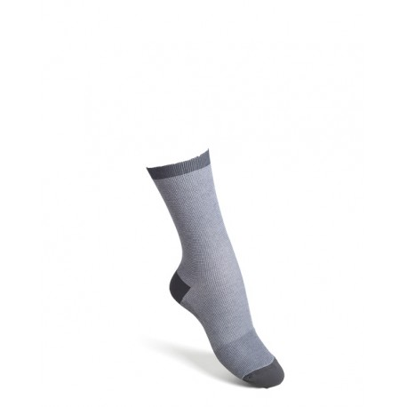 Comfort socks cotton grey