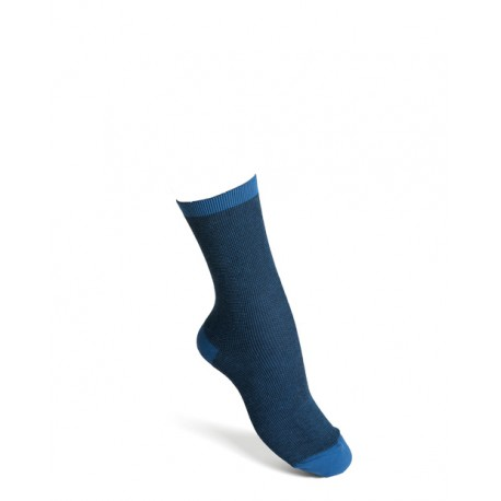 Comfort socks cotton blue