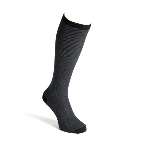 Compression socks cotton blackgrey men