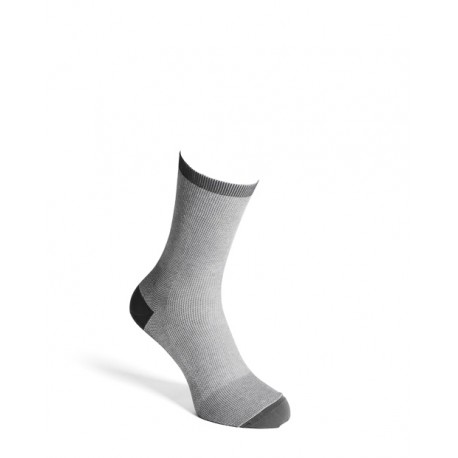 Comfort socks cotton grey men