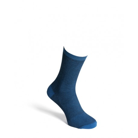 Comfort socks cotton blue men