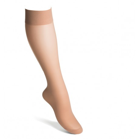 Compression knee highs nylon nude