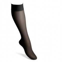 Compression knee highs nylon black